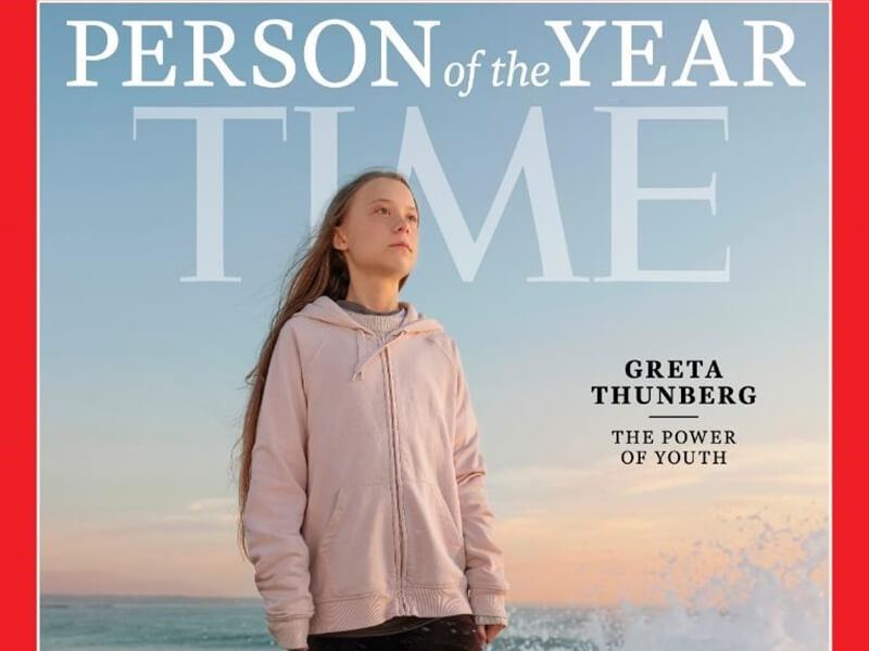 16歲少女成為抗暖化代言人