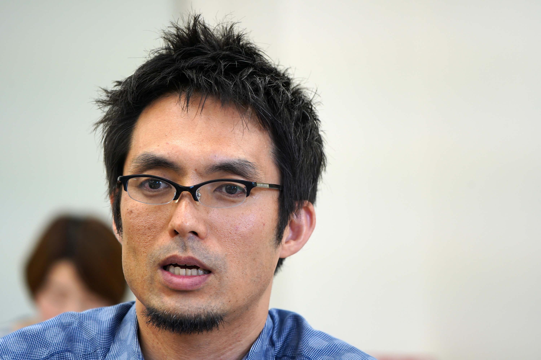 新國立競技場設置本部施設部建築課長田阪昭彥表示,為了聽取各方對於場館設計的意見,與相關團體、協會開了50次左右的會議,這也是他頭一次碰到要不斷開會的建案。(中央社記者吳家昇攝)