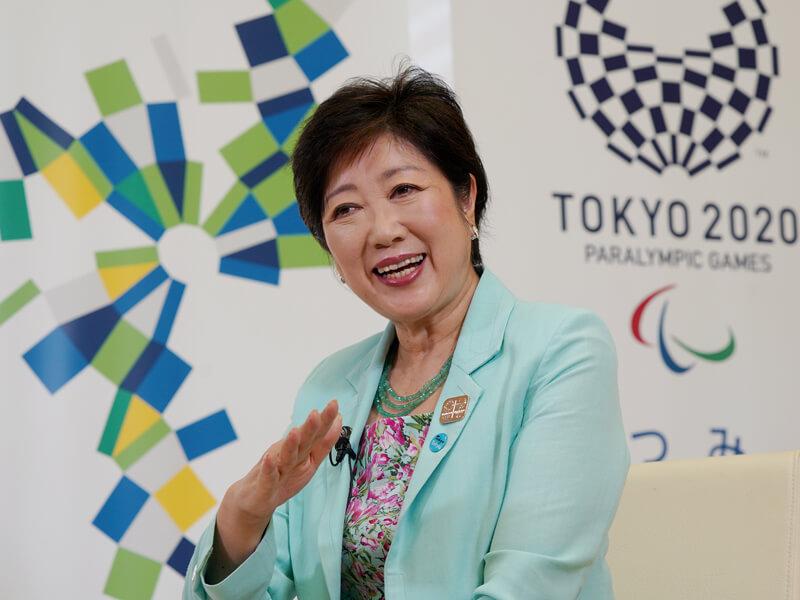 日政壇女將小池百合子 站上東京奧運新舞台